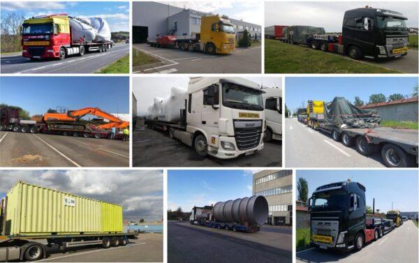 Transportul rutier de marfuri presupune deplasarea marfurilor cu autovehicule de transport specializate